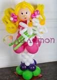 Девочка Маша из воздушных шаров