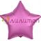 """Фольгированная звезда """"мистик"""" гранатовая 45см - фото 10078"""