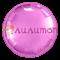 """Фольгированный шар """"Розовый круг"""" 65 см - фото 10402"""