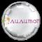"""Фольгированный шар """"Серебристый круг"""" 65 см - фото 10404"""