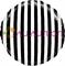 """""""Белые полоски. Черный круг"""" 40 см - фото 10443"""