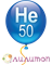 Гелий в 50 литров 200 атм. баллоне - фото 8847