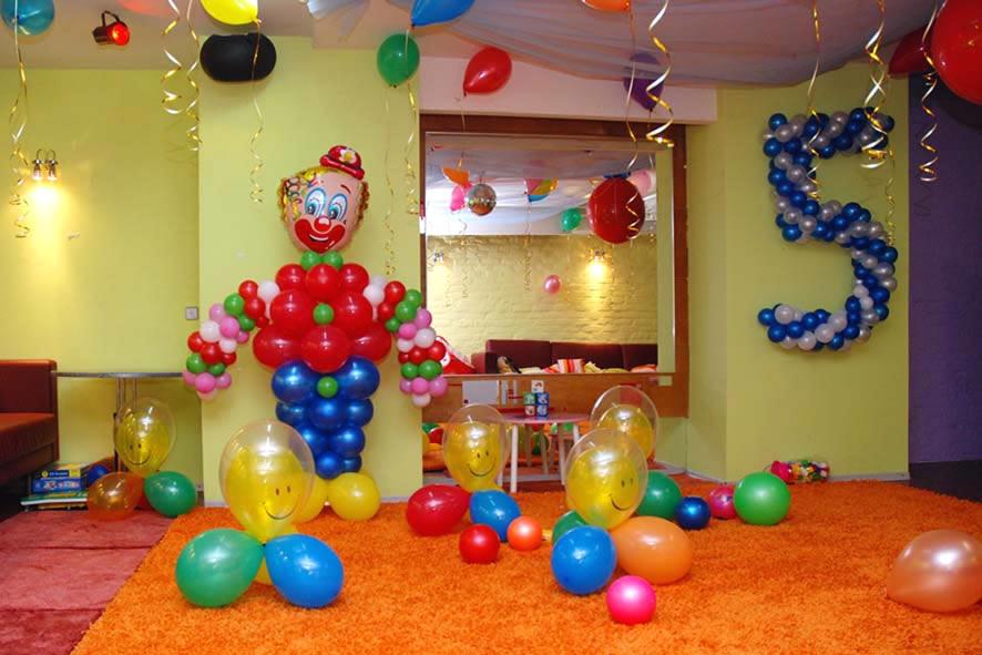Как украсить детскую комнату на день рождения своими руками фото
